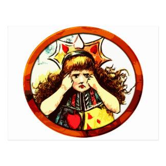 Carte Postale Rachel la reine du renversement de coeurs