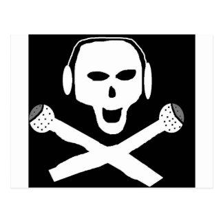 CARTE POSTALE RADIO DE PIRATE