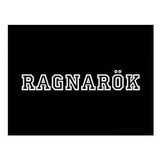 Carte Postale Ragnarok