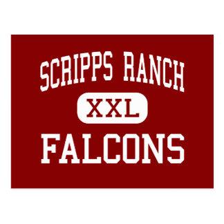 Carte Postale Ranch de Scripps - Falcons - haut - San Diego
