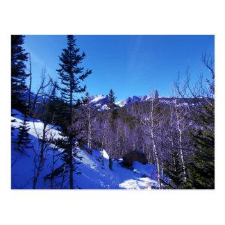 Carte Postale Raquette de montagne rocheuse