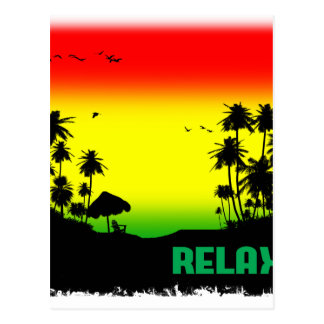 Carte Postale rasta de relaxation