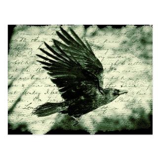 Carte Postale Raven 9