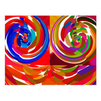 Carte Postale Rayon de ku de Cho - plat curatif V7 de thérapie
