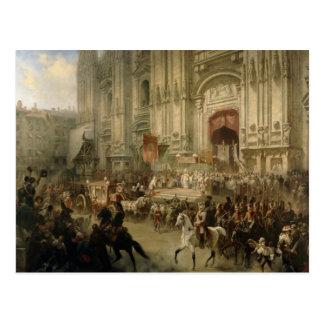 Carte Postale Réception cérémonieuse de Champ-maréchal