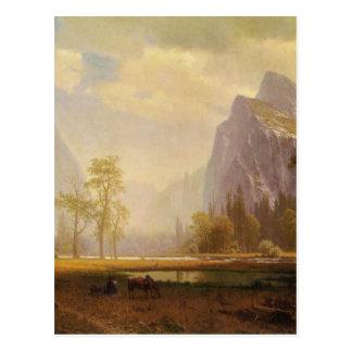 Carte Postale Recherchant la vallée de Yosemite - Albert