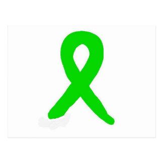 Carte Postale Recherche et conscience de la maladie de Lyme