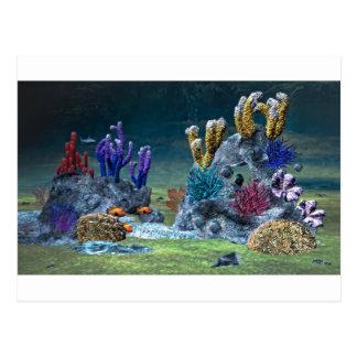 Carte Postale Récif coralien impressionnant
