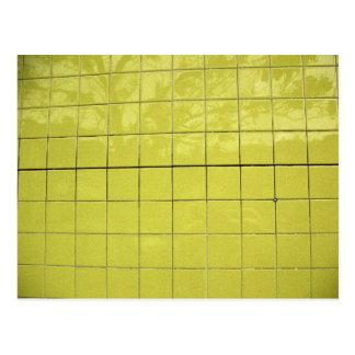 Carte Postale Réflexion jaune