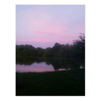 Carte Postale Réflexion sur le lac