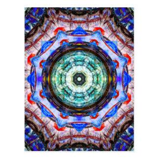 Carte Postale Réflexions de kaléidoscope