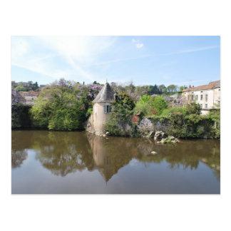 Carte Postale Réflexions de la France - L'Isle Jourdain