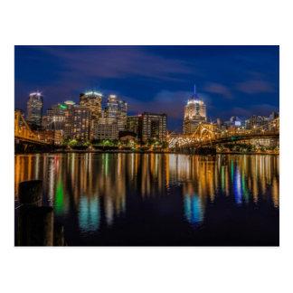 Carte Postale Réflexions de Pittsburgh