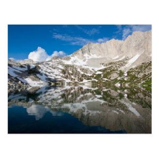 Carte Postale Réflexions rouges de lac…