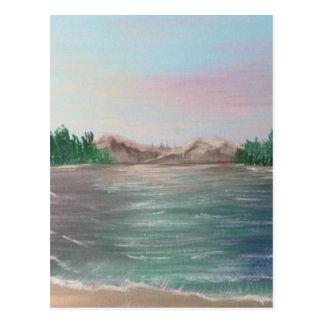 Carte Postale Réflexions sur le lac