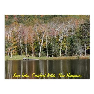 Carte Postale Réflexions sur le lac Saco