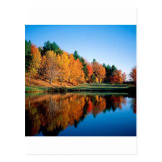Carte Postale Réflexions Vermont d'automne