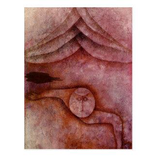 Carte Postale Refuge par Paul Klee