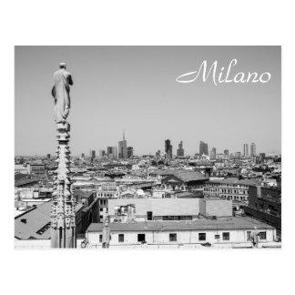 Carte Postale Regard sur Milan