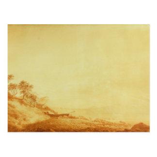 Carte Postale Regardant vers Arkona le lever de soleil, 1801