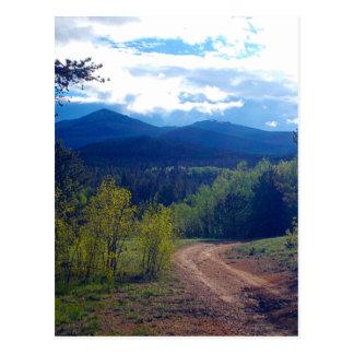 Carte Postale Région sauvage de montagne rocheuse