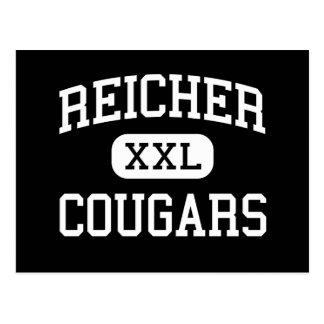 Carte Postale Reicher - pumas - lycée - Waco le Texas