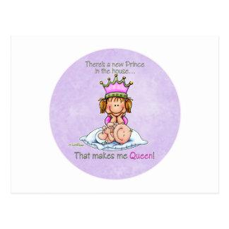 Carte Postale Reine de grande soeur de princesse Products