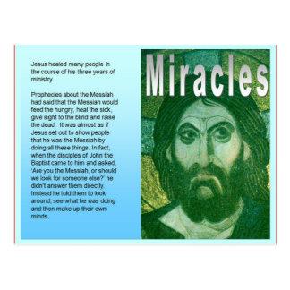 Carte Postale Religion, chrétien, les miracles de Jésus