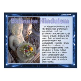 Carte Postale Religion, hindouisme de Balinese