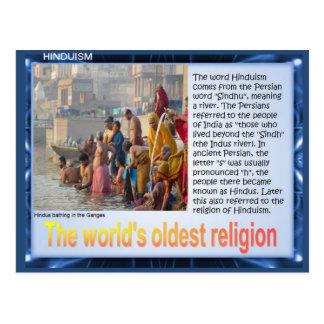 Carte Postale Religion, hindouisme, Inde, la religion la plus