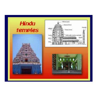 Carte Postale Religion, hindouisme, temples hindous