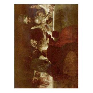 Carte Postale Rembrandt Harmensz. van Rijn Die Verschw ? der