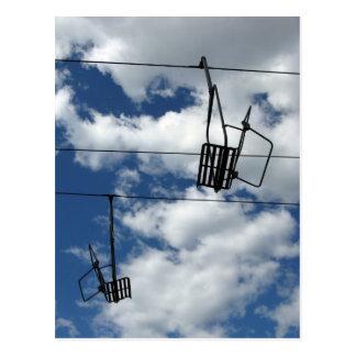 Carte Postale Remonte-pente et ciel