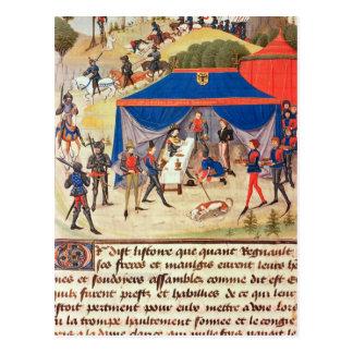 Carte Postale Renaud De Montauban et Charlemagne