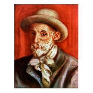 Carte Postale Renoir - autoportrait 1910 par Pierre Renoir