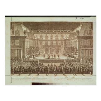 Carte Postale Représentation de l'opéra 'Alceste