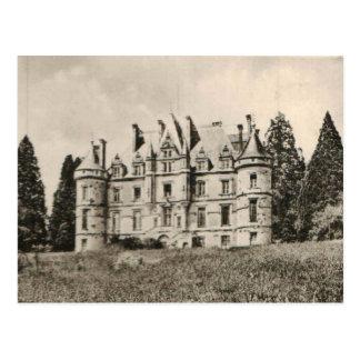 Carte Postale Reproduction 1925 de château de Chateau de la