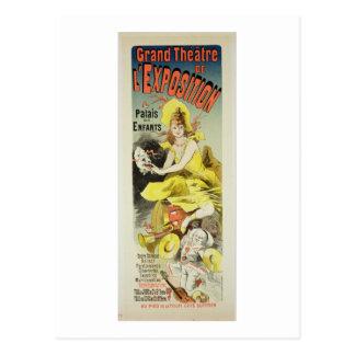 Carte Postale Reproduction d'une publicité par affichage 'le Th