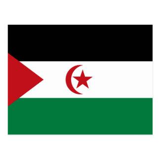 Carte Postale République Democratic arabe de Sahrawi