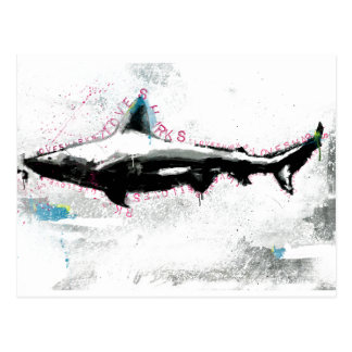 Carte Postale requin