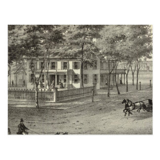 Carte Postale Résidence de John S Rogers dans Manasquan, NJ