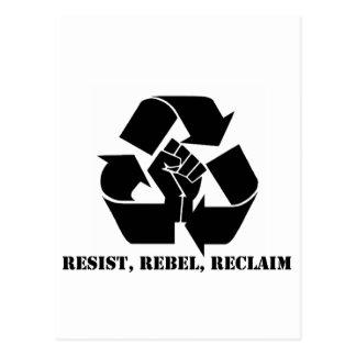 Carte Postale Résistez, rebellez-vous, reprenez