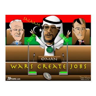 Carte Postale Ressort d'Arabe d'Obama