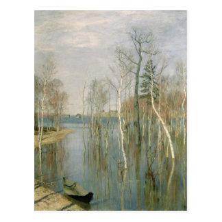 Carte Postale Ressort, hautes eaux, 1897