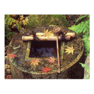 Carte Postale Ressort pour la cérémonie de thé, temple de