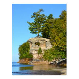 Carte postale/ressortissant Shoreline du lac