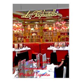 Carte Postale Restaurant centre commercial H2O de Rivas vaciamad