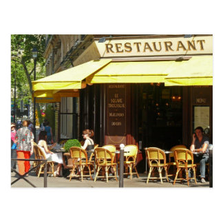 Carte Postale Restaurant de Paris