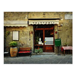 Carte Postale Restaurant italien