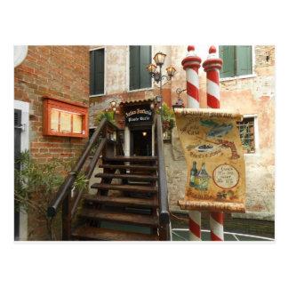 Carte Postale Restaurant vénitien